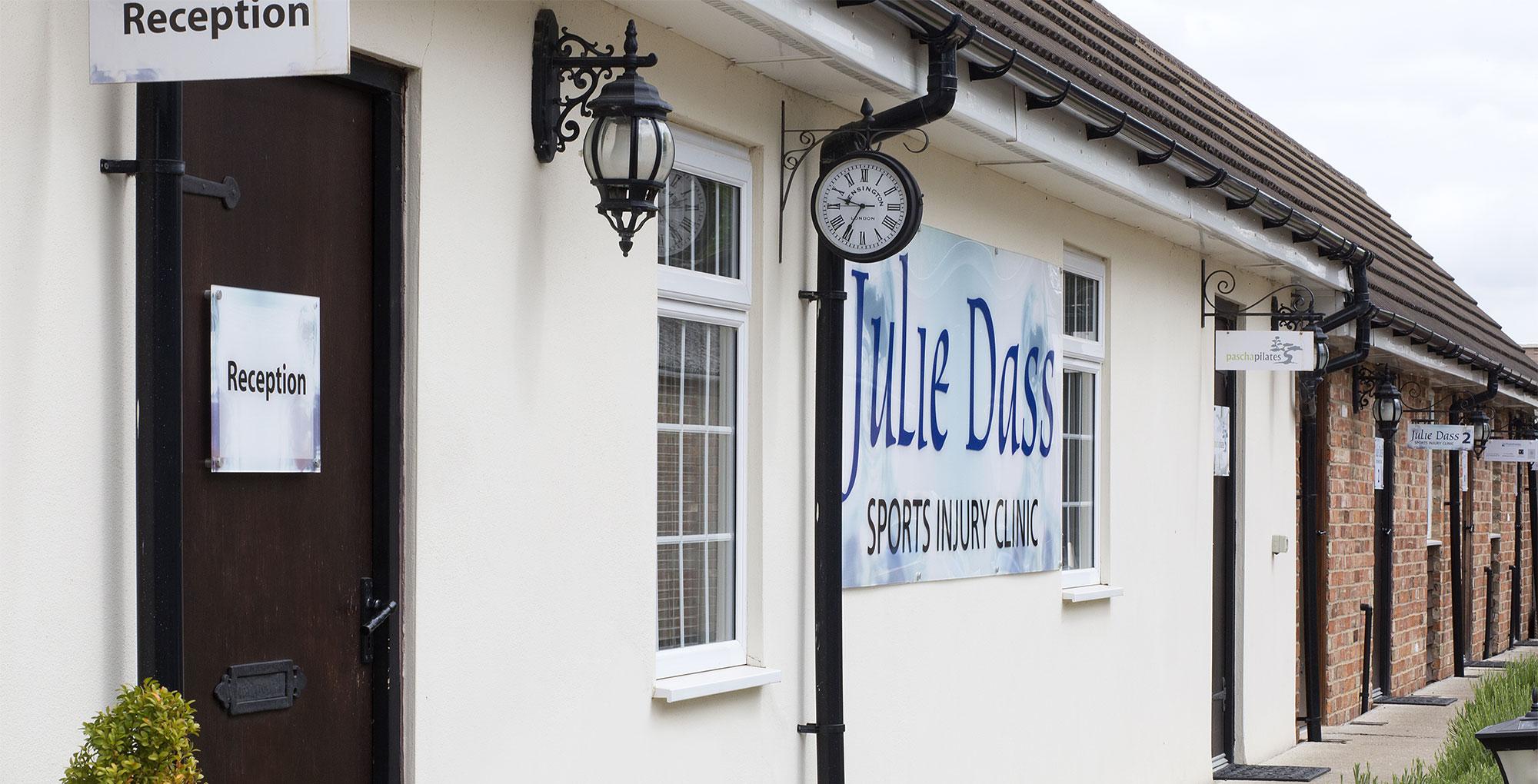 Julie Dass sports injury Clinic
